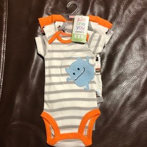 Carter's Just One You Newborn Monster Roar Onesies